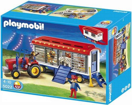 Onwijs bol.com | Playmobil Circustractor Met Dieren - 5022, PLAYMOBIL AA-34
