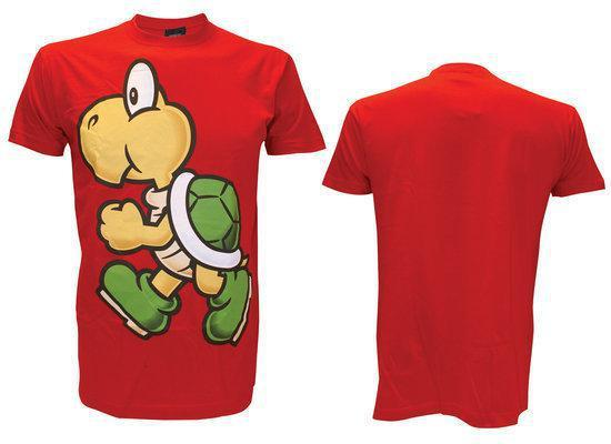 Nintendo - Bright Red. Koopa T-shirt - S