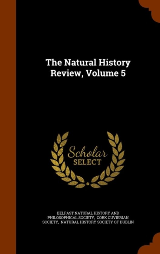 The Natural History Review, Volume 5