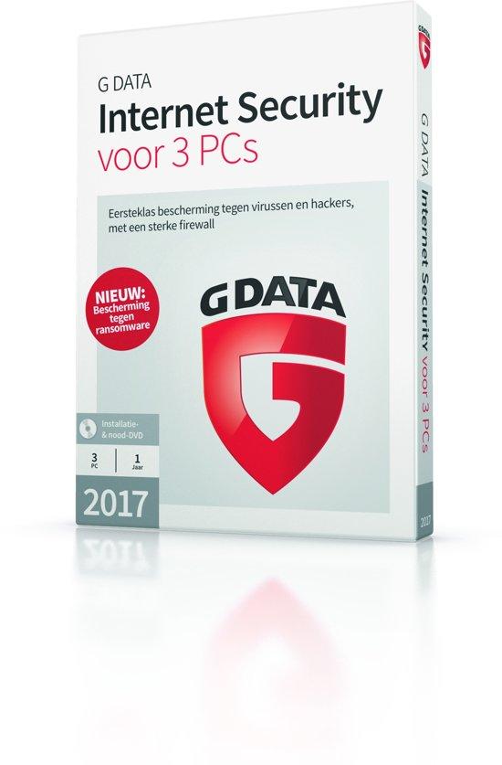 G Data Internet Security - Nederlands - 3 Apparaten - Windows