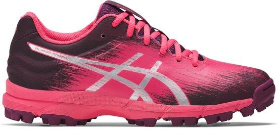 roze asics hockeyschoenen