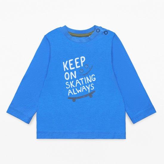 Esprit Jongens T-shirt - Blauw - Maat 74