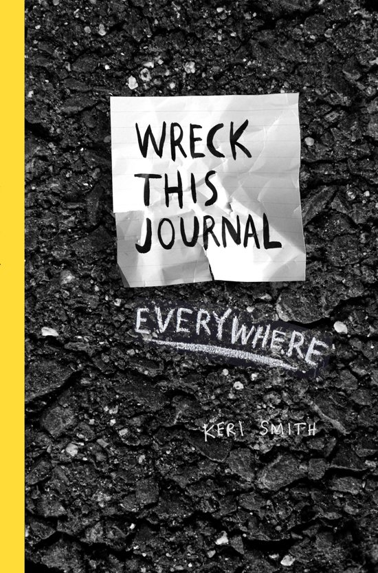 Boek cover Wreck This Journal Everywhere van Keri Smith (Paperback)