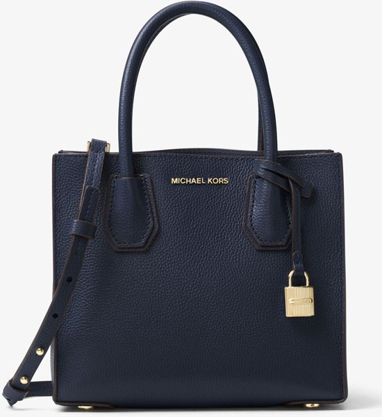 7c012bb8458 bol.com | Michael Kors-Handtassen-Mercer Medium Messenger-Blauw