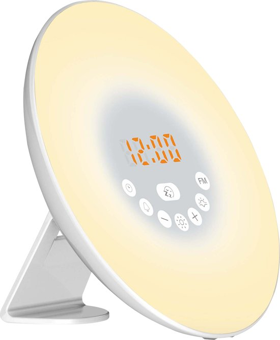 Nikkei NCW20 wake up light wekker met radio