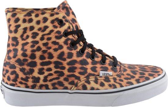 41c332310e9 Vans Authentic Hi - Sneakers - Unisex - Maat 40 - Licht Bruin (luipaard-