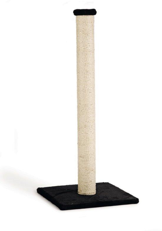Krabpaal Gina XL - Zwart - Met voetprint