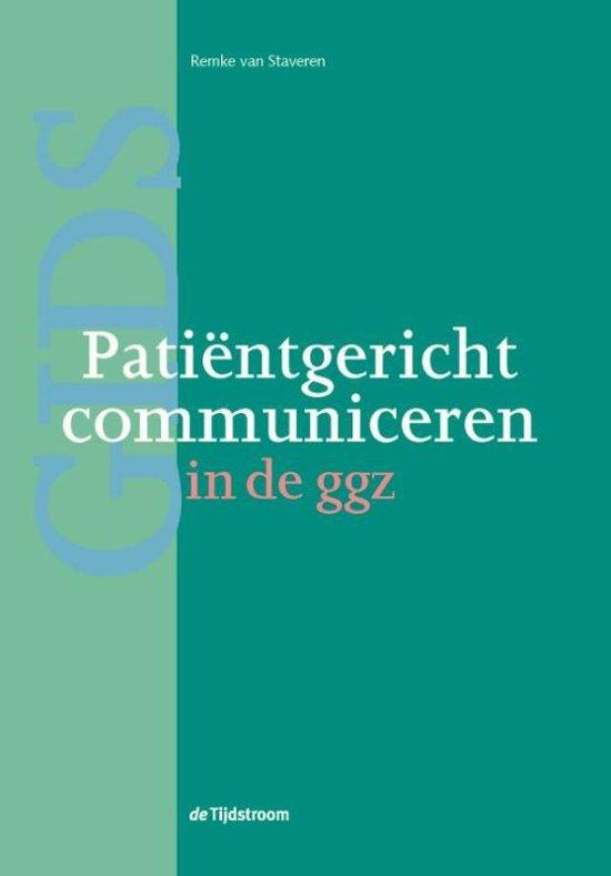 Patientgericht communiceren in de ggz