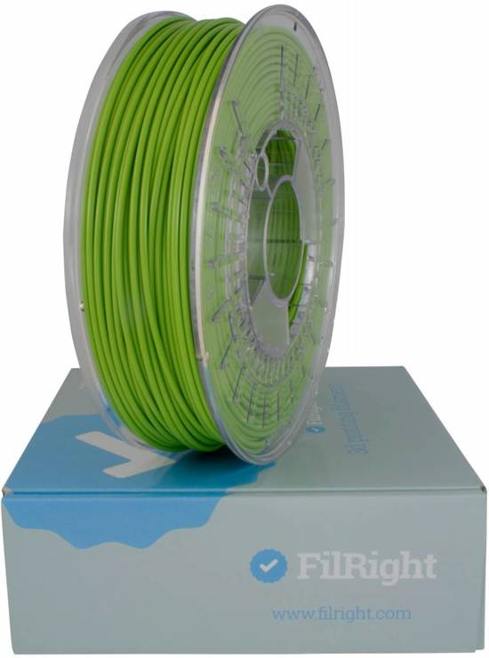 FilRight Maker PLA Filament - 1.75mm - 1 kg - Groen