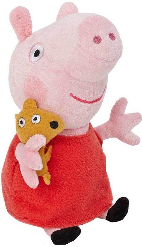 Peppa Pig Pluche Knuffel - Peppa 28 cm.