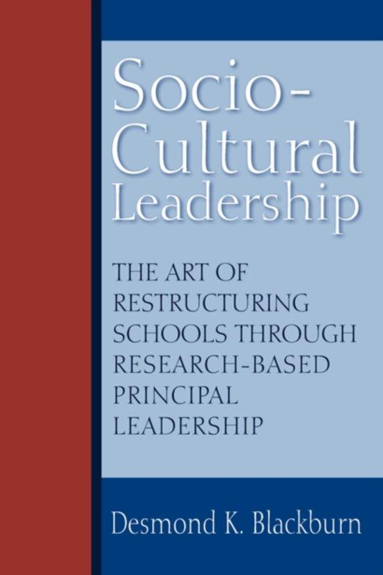 Socio-Cultural Leadership