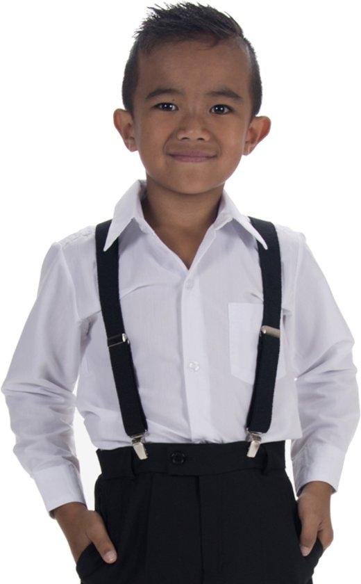 Kinderbretels zwart-