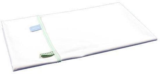 Snoozebaby - Wieglaken 75x100 cm - Mint (organic cotton)