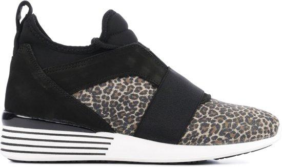 LeopardBrons Maat 38 D1491 Hip Sneakers Vrouwen HWEYD9I2
