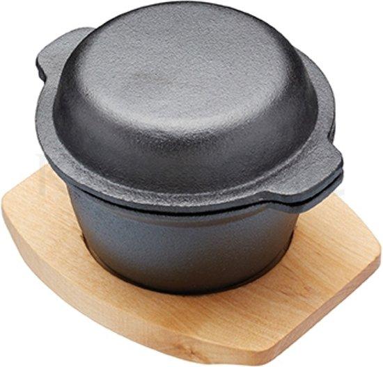 Gietijzeren Stoofpot Mini - 10cm - MasterClass | Artesà