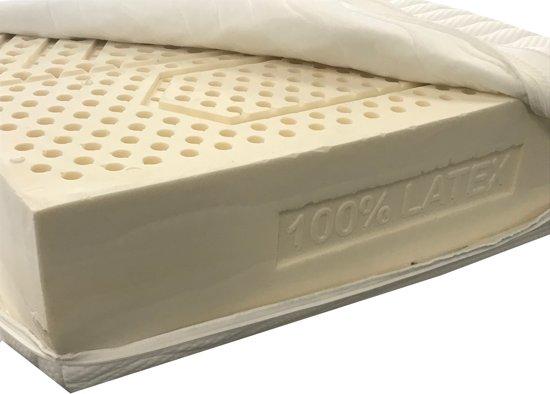 180x210 Latex matras met bamboe Hoes