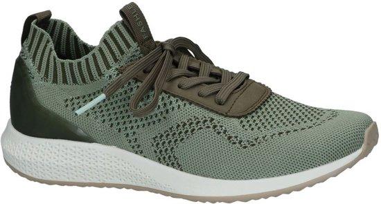 722olive 36 Maat Groen;groene Dames on Slip Sneakers 22 Tamaris1 23714 TOPkuZXi