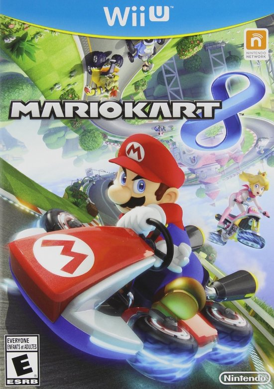 mario kart 8 wii u nintendo games. Black Bedroom Furniture Sets. Home Design Ideas