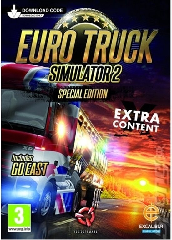 Euro Truck Simulator 2 - Windows (Code in a box)