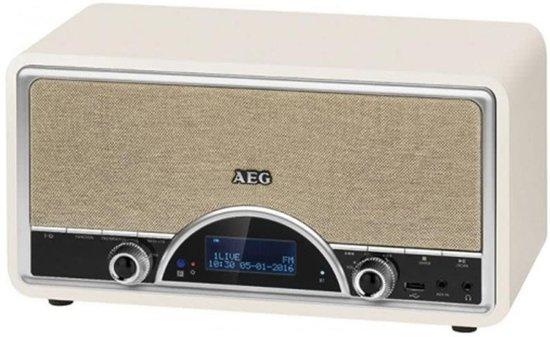 AEG DAB+ radio with RDS NDR 4378 2x20 W crème