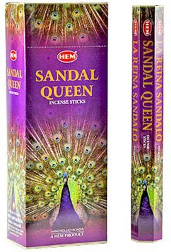 Hem Sandal Queen Hexa