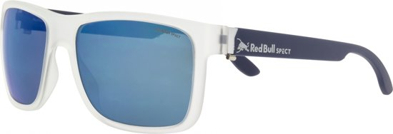 Red Bull Spect Eyewear Sportzonnebril Wing1 Wit/blauw (002pn)