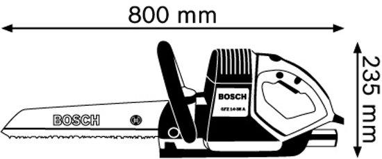 Bosch Professional GFZ 16-35 AC Reciprozaag - 1600 Watt
