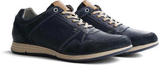 Travelin' Corton Leather Blue 42