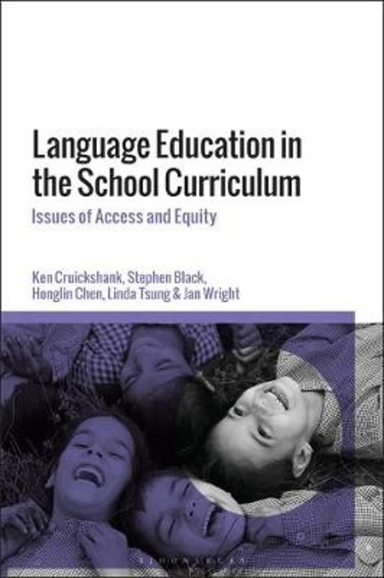 Language Education in the School Curriculum