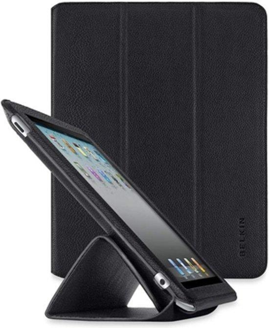 Belkin Trifold Folio Etui voor de Apple iPad 2 - Zwart