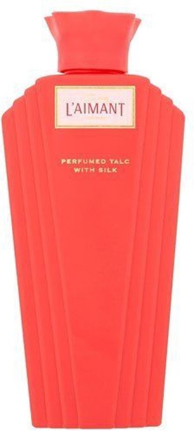 L'Aimant Perfumed Talc with Silk 100g