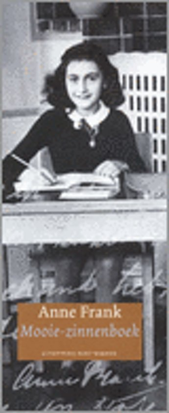 Citaten Uit Dagboek Anne Frank : Bol.com mooie zinnenboek anne frank 9789035126473 boeken