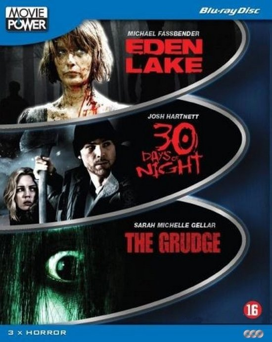 DVD cover van Moviepower Box 4: Horror (Deel 1) (Blu-ray)