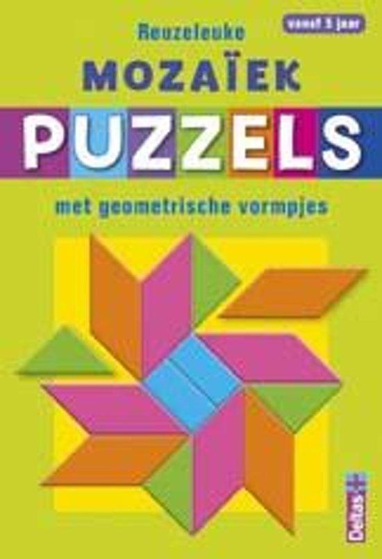 Reuzeleuke mozaïek puzzels