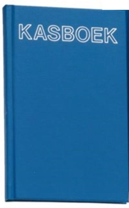 Kasboek gebonden A6 200blz met 1 geldkolom
