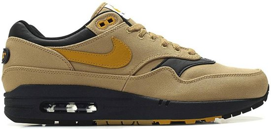 | Nike Air Max 1 Sneakers Heren goudgeel Maat 42