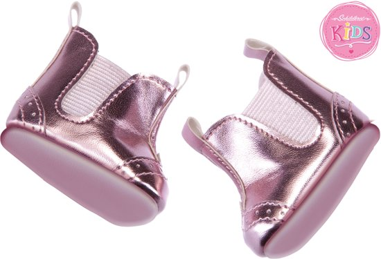 Schildkröt Shoes, metallic pink - poppenkleding