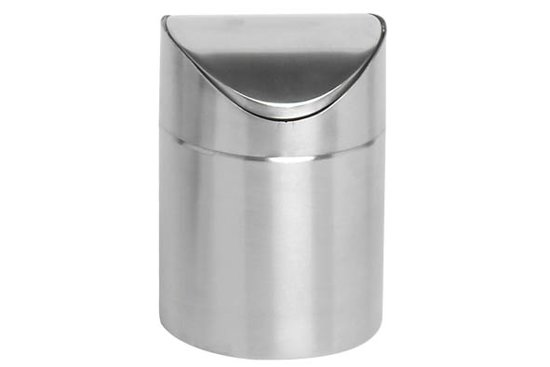 Tafel Prullenbak Rvs : Bol afval emmertje voor tafelrestjes d xh cm inox