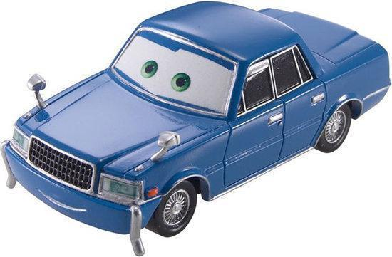 Cars Toon Auto's Cars Sedan Sensei met Musta