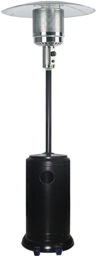 JustFire Patio Terrasverwarmer - gas - staand - verrijdbaar - tot 12000 W (HSS221)