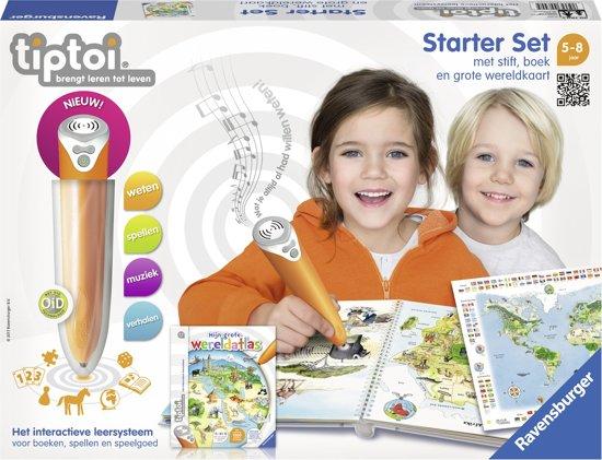 tiptoi® Starterset boek Wereldatlas