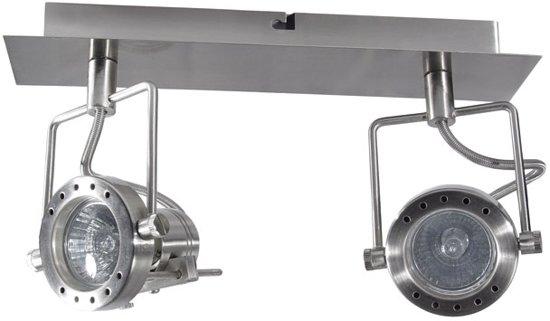 Kanlux SONDA Spotlamp 2x50W Chroom 4796