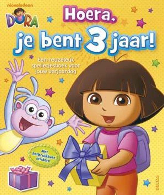 Bol Com Dora Hoera Je Bent 3 Jaar 9789044738889 Boeken