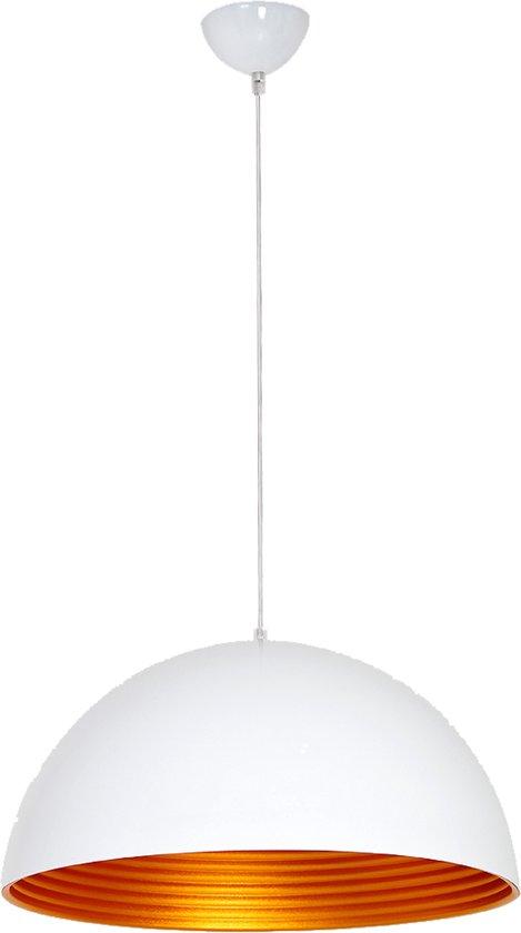 City of Glass Modern - Hanglamp - D40 cm - Wit, Goud