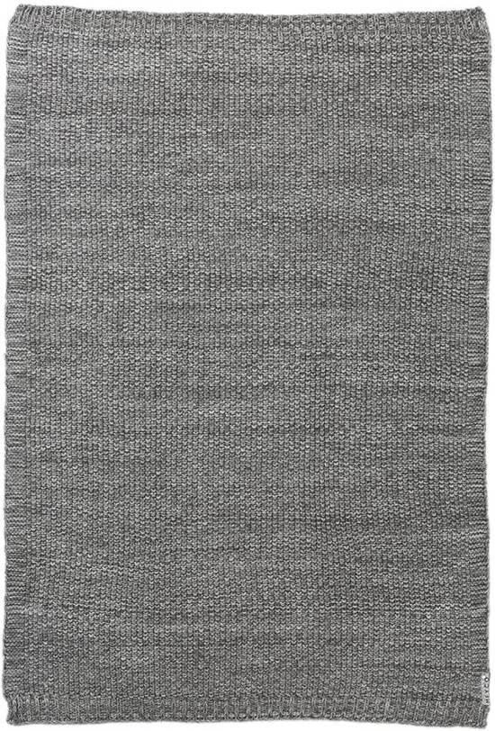 Meyco Silverline Relief Mixed wiegdeken - 75 x 100 cm - Grijs