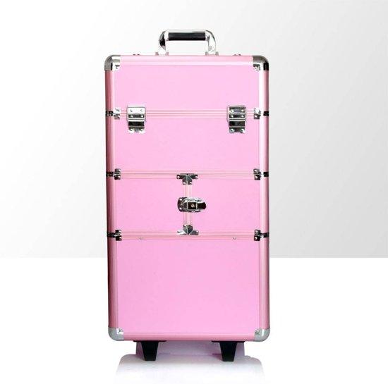 Beste bol.com | Aluminium koffer nagelstyliste beautycase - make/up koffer LW-19