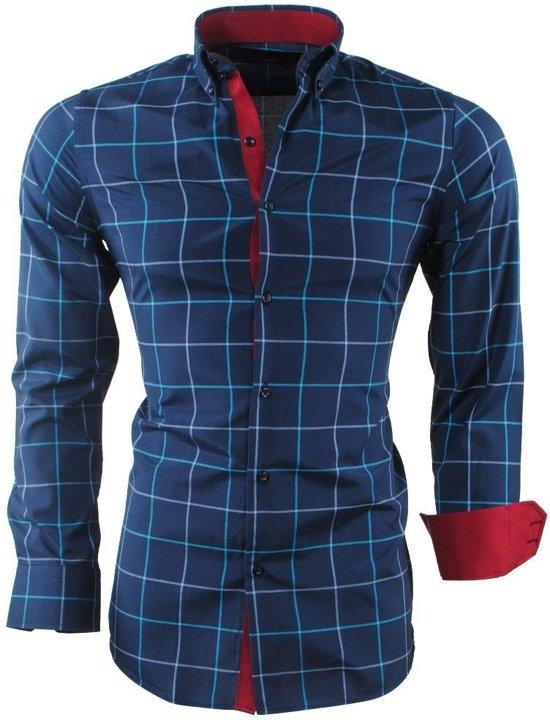Navy Navy Overhemd Geblokt Geblokt MontazinniHeren Overhemd Overhemd Navy MontazinniHeren MontazinniHeren MontazinniHeren Overhemd Geblokt eBCWrxdQo