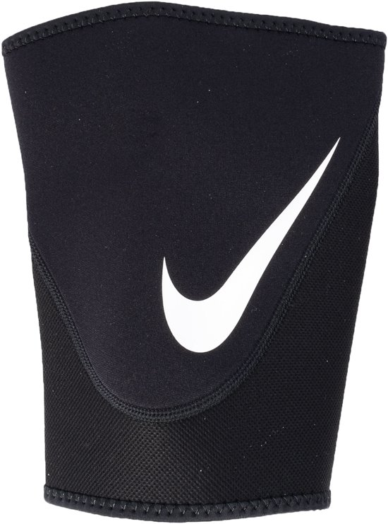 Nike Pro Combat Dijbeen Sportbandage 2.0 - Large - Zwart