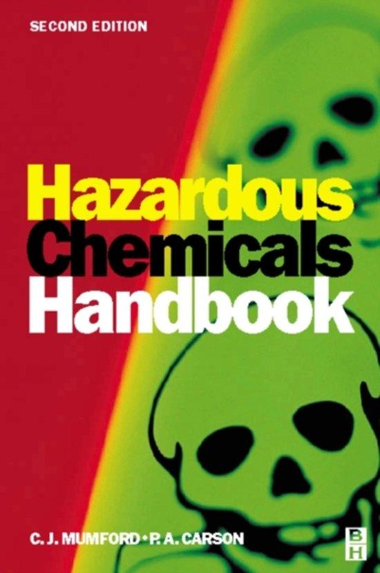 Bol Hazardous Chemicals Handbook 9780750648882 Pa Carson