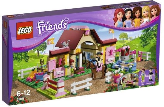 LEGO Friends Heartlake Paardenstal - 3189